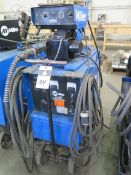 Miller CP-200 CV-DC Arc Welding Power Source s/n JH229352 w/ Miller S-52E Wire Feeder SOLD AS-IS