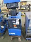 Miller CP-200 CP-DC Arc Welding Power Source s/n JG111269 w/ Miller S-52E Wire Feeder SOLD AS-IS