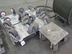 Machinery Dolleys (6) (SOLD AS-IS - NO WARRANTY)