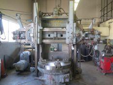 "Cincinnati Hypro 52"" Vertical Boring Mill s/n 6261 w/ Cincinnati Controls, 57"" Swing, SOLD AS IS"