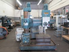 YCI/Supermax/Trojan mdl. HDR-1000H Radial Arm Drill s/n 9404075 w/ 63-2000 RPM, SOLD AS IS