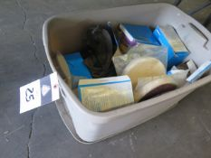 Safety Goggles and Respirators (SOLD AS-IS - NO WARRANTY)