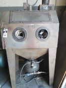 Aero-Blast Dry Blast Cabinet (SOLD AS-IS - NO WARRANTY)