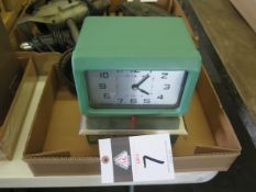 Acroprint Time Clock (SOLD AS-IS - NO WARRANTY)