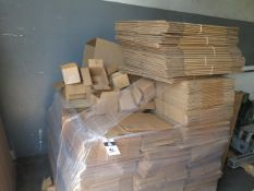 Boxes and Edge Protectors (SOLD AS-IS - NO WARRANTY)