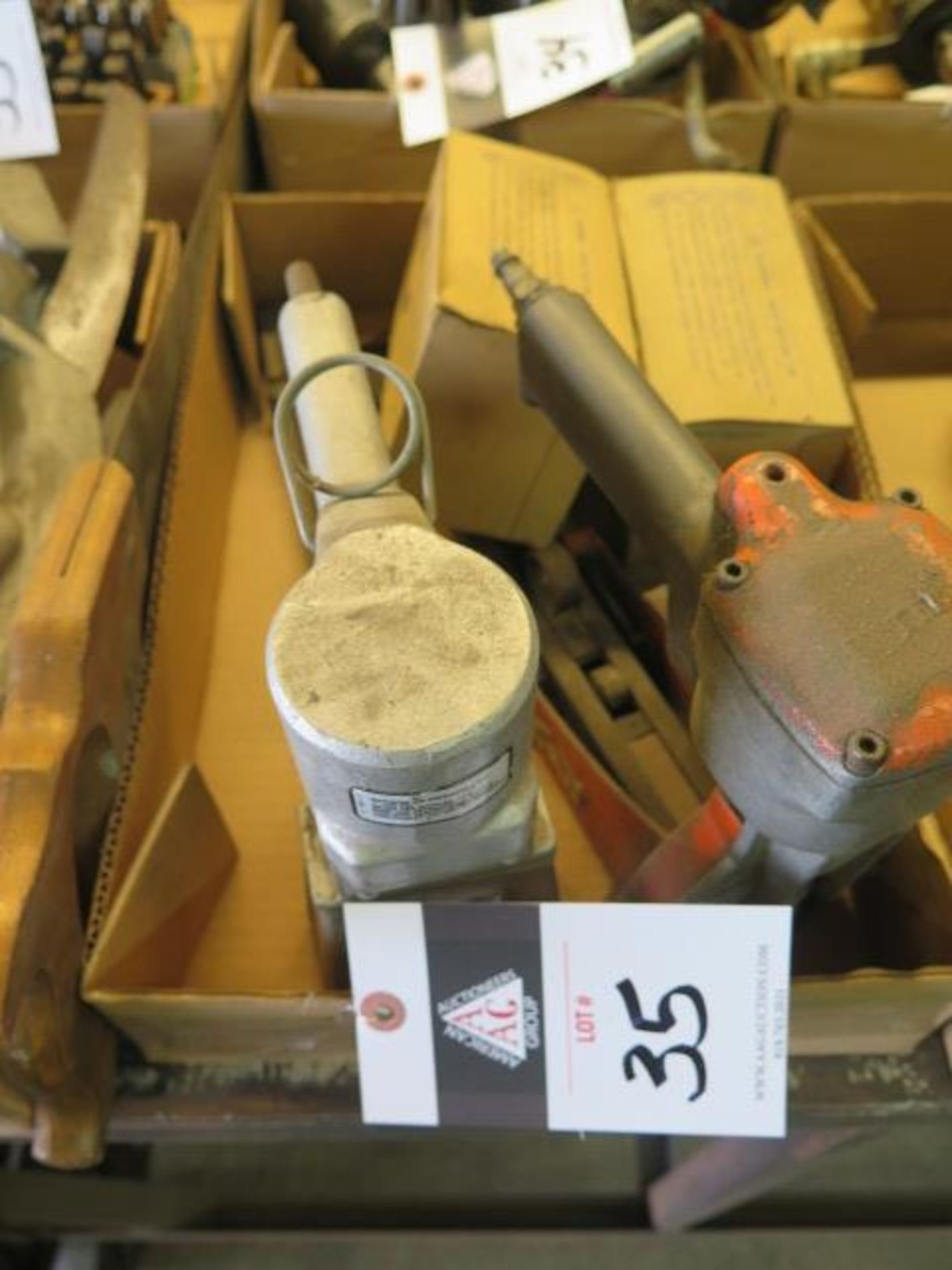 Pneumatic Box Staplers (2) (SOLD AS-IS - NO WARRANTY)