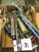 Grease Guns and Oil Cans (SOLD AS-IS - NO WARRANTY)