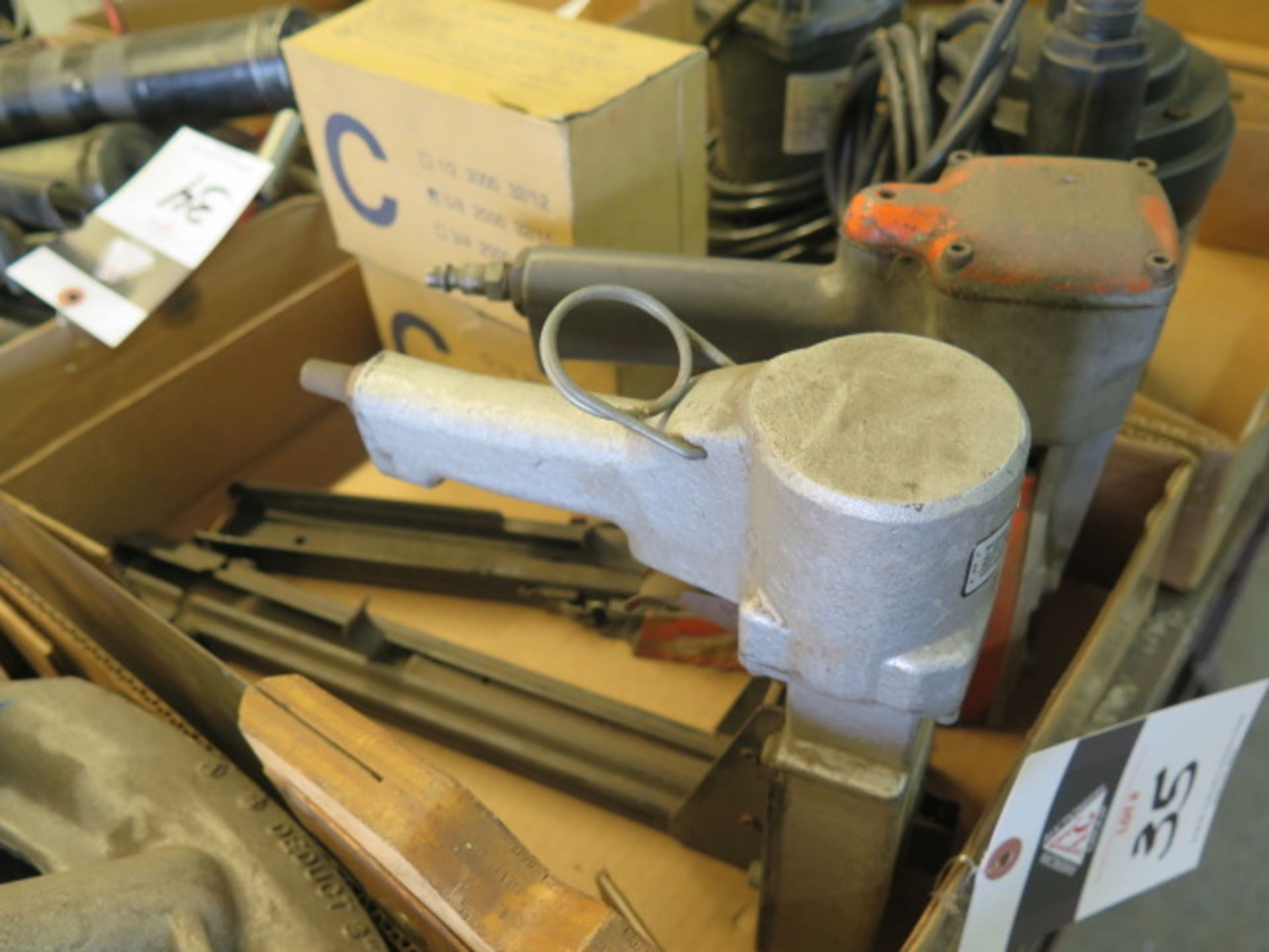 Pneumatic Box Staplers (2) (SOLD AS-IS - NO WARRANTY) - Image 2 of 3