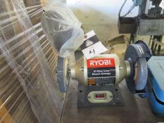 Ryobi Bench Grinder (SOLD AS-IS - NO WARRANTY)
