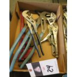Adjustable Wrenches and Pipe Wrench (SOLD AS-IS - NO WARRANTY)