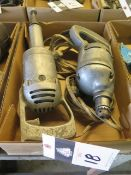 Electric Drill and Straight Shaft Grinder (SOLD AS-IS - NO WARRANTY)