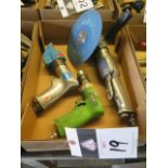 Pneumatic Shear, Angle Grinder and Drill (3) (SOLD AS-IS - NO WARRANTY)