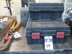 Tool Boxes (4) (SOLD AS-IS - NO WARRANTY)