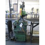 Doringer D350 Automatic Miter old Saw s/n 21998 w/ Pneumatic Clamping and Down Feed, 2-Speeds,