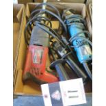 Makita Electric Shear and Milwaukee Drill (SOLD AS-IS - NO WARRANTY)
