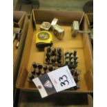 Impression Stamp Sets and Measuring Tapes (SOLD AS-IS - NO WARRANTY)