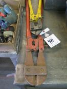 Bolt Cutters (2) (SOLD AS-IS - NO WARRANTY)