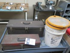 Tool Boxes w/ Misc Hand Tools (3) (SOLD AS-IS - NO WARRANTY)