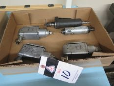 Pneumatic Impacts and Straight Shaft Grinders (5) (SOLD AS-IS - NO WARRANTY)