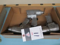 Pneumatic Impact Wrenches (3) (SOLD AS-IS - NO WARRANTY)