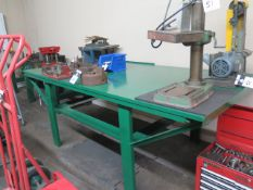 Steel Work Bench (SOLD AS-IS - NO WARRANTY)