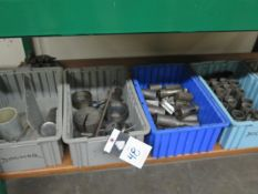Expandable Reamers, Screw Machine Collets and Misc (SOLD AS-IS - NO WARRANTY)