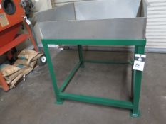 Stainless Steel Wash Table (SOLD AS-IS - NO WARRANTY)