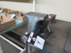 "6"" Bench Vise and 4"" Bench Vise (SOLD AS-IS - NO WARRANTY)"