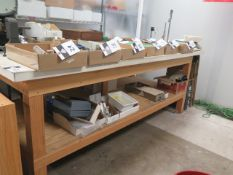 "Custom ""NO-IRON"" Work Benches for Magnetics and Electronics Assembly (SOLD AS-IS - NO WARRANTY)"