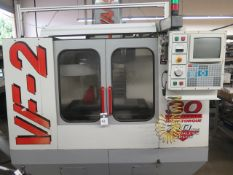 1998 Haas VF-2 CNC VMC s/n 14209 w/ Haas Controls, Hand Wheel, 20 ATC SOLD AS IS NO WARRANTY