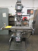 Lagun FTV-2S Vert Mill s/n SE-20008 w/ Lagun DRO, 2Hp Motor, Dial Change RPM, 30-Taper SOLD AS IS