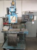 "Lagun ""Lagunmatic"" 3-Axis CNC Vertical Mill w/ Delta 10CNC Controls, 40-Taper Spindle, SOLD AS IS"
