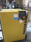2002 Kaeser SK26 20Hp Rotary Air Compressor s/n 1420 w/ Sigma Digital Controls, SOLD AS IS