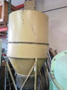 Cyclone Style Dust Collector w/ Drum Discharge (SOLD AS-IS - NO WARRANTY)