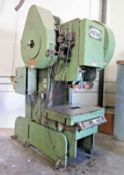 "Heim 12A OBI BG 120 Ton Back geared OBI Press s/n 2071 w/ 30"" x 40"" Bolster Area, SOLD AS IS"