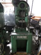 Bruderer BSTA30 33-Ton High Speed Stamping Press (NO CONTROLS), SOLD AS IS AND NO WARRANTY