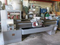 "LeBlond Regal 19"" x 56"" Lathe s/n 2E72 w/ 38-1500 RPM, Inch Threading, Taper Attachment, SOLD AS IS"