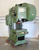 "Heim 5G-GAP-F 55 Ton Gap Frame Stamping Press s/n 1926 w/ 18"" x 28"" Bolster Area, SOLD AS IS"