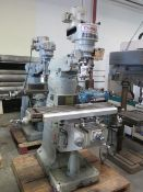 Comet Vertical Mill w/ Quality-800 DRO, Power Feed (SOLD AS-IS - NO WARRANTY)