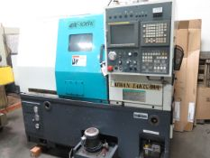 2001 Takisawa EX-106 CNC Cross Slide Lathe s/n CB08E60284 w/ Fanuc Series 21i-T, SOLD AS IS
