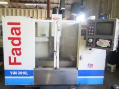 2000 Fadal VMC 3016L CNC VMC s/n 012000091419 w/ Fadal Mulitprocessor CNC, SOLD AS IS