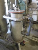 Stainless Steel Vacuum Tank (SOLD AS-IS - NO WARRANTY)