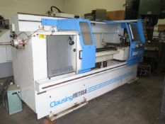 "2001 Clausing Metosa SM1560VS 15"" x 60"" ""Smart Lathe"" Soft CNC Gap Bed lathe, SOLD AS IS"