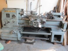 "H.E.S. C450 18"" x 40"" Tracer Lathe s/n 2743 w/ 45-1800 RPM, Tracer Attachment, Tailstock. SOLD AS-IS"