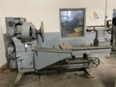 "Prybil L-28-23 27"" x 60"" Cap. Gap Bed Spinning Lathe w/ US Motors Variable Spd Control, SOLD AS IS"