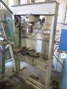 Hydraulic H-Frame Press w/ Arbor Press (SOLD AS-IS - NO WARRANTY)