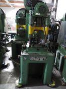 Bruderer BSTA30 33-Ton High Speed Stamping Press w/ Bruderer Controls, SOLD AS IS AND NO WARRANTY