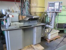 Hardinge / Fagor CNC Cross Slide Lathe w/ Fagor CNC Controls, Pneumatic 5C Collet Closer, SOLD AS IS