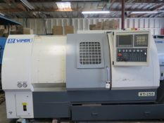 2010 Mighty Viper VT-25B CNC Turning Center s/n 4331011012 w/ Fanuc Series 0i-TD Cont, SOLD AS IS