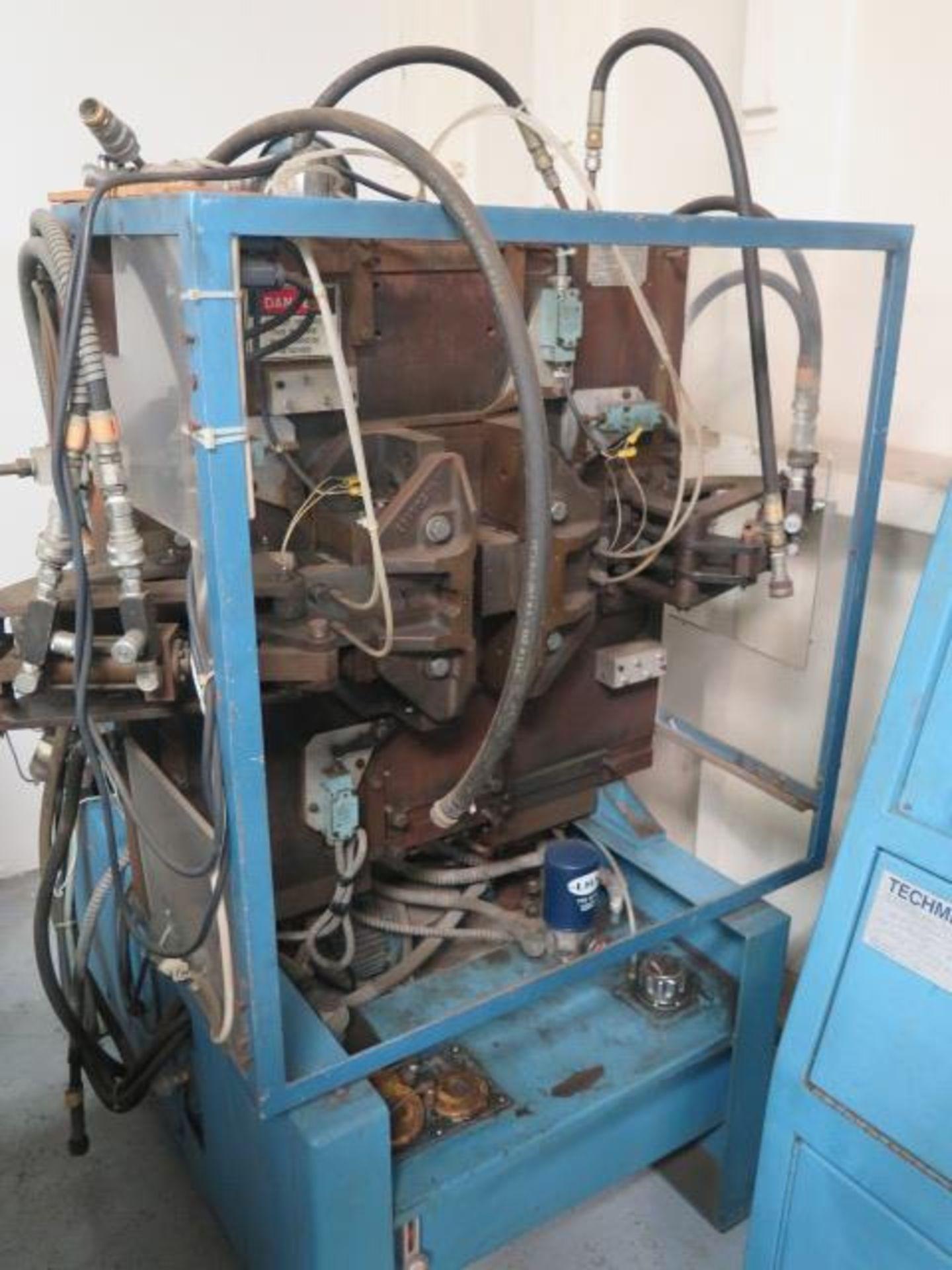 Lot 136 - Techmire CEM-01 Injection Molding Machine s/n 841-098 w/ Techmire Controls, Air Ejector, SOLD AS IS